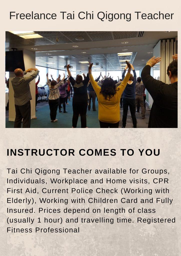 Tai Chi Qigong Freelance Teacher